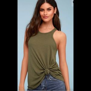 🛍2 for $25🛍NWT Free People Long Beach Tank Top